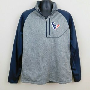 NFL Jackets & Coats - NFL Houston Texans Pullover Jacket Sz XL